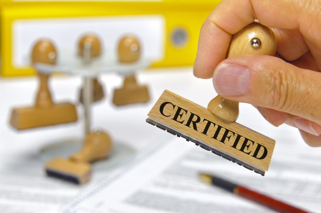 Certifiering